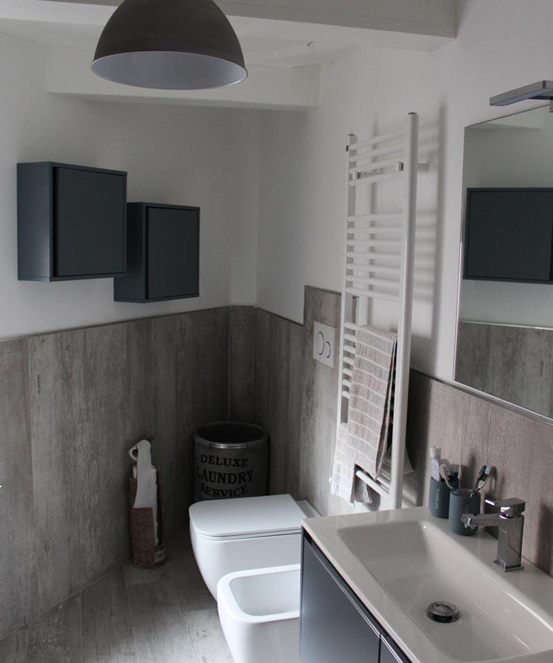 Rifacimento completo del bagno Nuovo impianto idrico ed ...